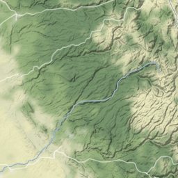 Rivers: search + Stamen terrain - bl ocks org